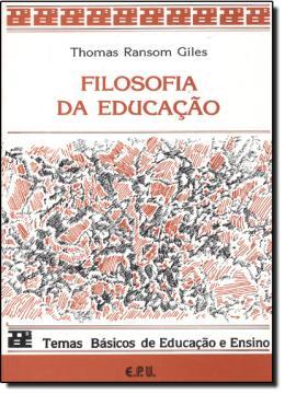 FILOSOFIA DA EDUCACAO