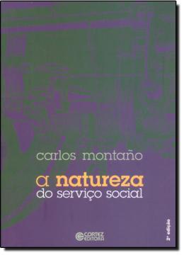 NATUREZA DO SERVICO SOCIAL