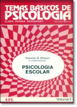 TEMAS BASICOS  DE PSICOLOGIA 1  - PSICOLOGIA ESCOLAR