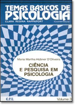 TEMAS BASICOS  DE PSICOLOGIA 3 - CIENCIA E PESQUISA