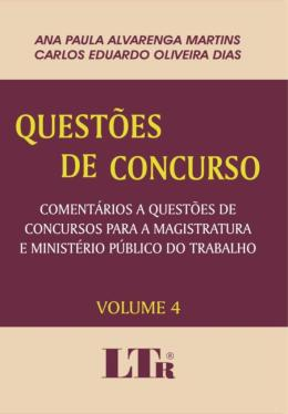 QUESTOES DE CONCURSO VOLUME 4