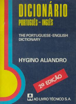 DICIONARIO PORTUGUES / INGLES