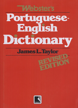 WEBSTER´S PORTUGUESE - ENGLISH DICTIONARY