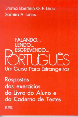 FALANDO... LENDO... ESCREVENDO... PORTUGUES - RESPOSTAS