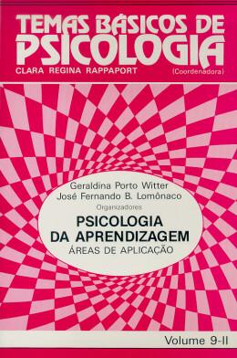 TEMAS BASICOS DE PSICOLOGIA 9-II -  PSICOLOGIA DA APRENDIZAGEM