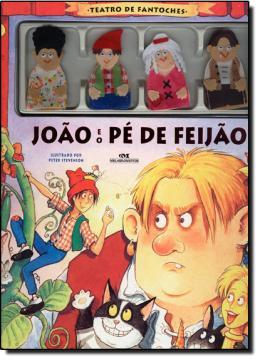 TEATRO DE FANTOCHES   JOAO E O PE DE FEIJAO