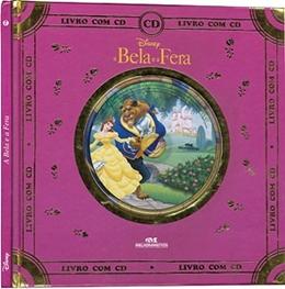DISNEY LIVRO COM CD   A BELA E A FERA