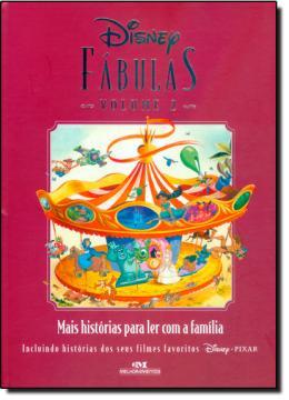 DISNEY FABULAS 2   MAIS HISTORIAS PARA LER COM A FAMILIA