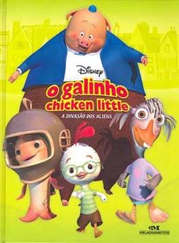 GALINHO CHICKEN LITTLE   A INVASAO DOS ALIENS, O