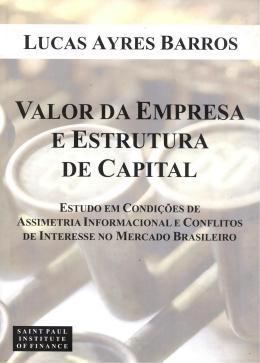VALOR DA EMPRESA E ESTRUTURA DE CAPITAL