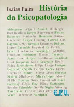 HISTORIA DA PSICOPATOLOGIA