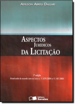 ASPECTOS JURIDICOS DA LICITACAO - 7ª EDICAO