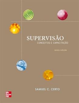SUPERVISAO  - CONCEITOS E CAPACITACAO - 6º ED