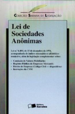 LEI SOCIEDADES ANONIMAS