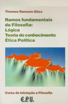 RAMOS FUNDAMENTAIS DA FILOSOFIA