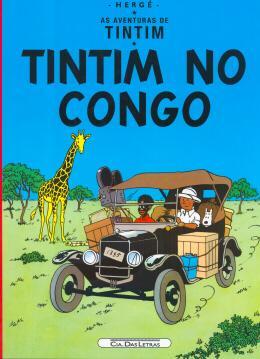 TINTIM NO CONGO - AS AVENTURAS DE TINTIM