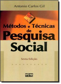 METODOS E TECNICAS DE PESQUISA SOCIAL - 6ª EDICAO