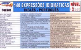 140 EXPRESSOES IDIOMATICAS INGLES-PORTUGUES - NIVEL 2
