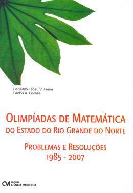OLIMPIADA DE MATEMATICA DO ESTADO DO RIO GRANDE DO NORTE