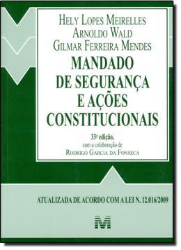 MANDADO DE SEGURANCA - 33ª EDICAO