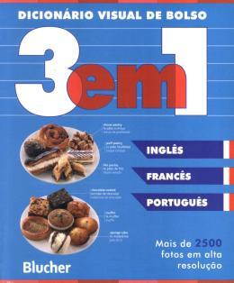 DICIONARIO VISUAL DE BOLSO 3 EM 1 - INGLES / FRANCES / PORTUGUES
