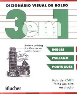 DICIONARIO VISUAL DE BOLSO - 3 EM 1 - INGLES/ ITALIANO/ PORTUGUES
