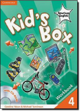 KIDS BOX AMERICAN ENGLISH LEVEL 4 WORKBOOK + CD-R