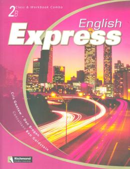 ENGLISH EXPRESS 2B COMBO (SB/WB+AUDIO-CD (2))