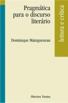 PRAGMATICA PARA O DISCURSO LITERARIO