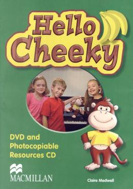 HELLO CHEEKY - CHEEKY MONKEY DVD & PHOTOCOPIABLE CD
