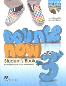 BOUNCE NOW 3 SB PACK WITH ACTIVITY BOOK & CD-ROM - 1ST ED