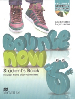 BOUNCE NOW 6 SB PACK WITH ACTIVITY BOOK & CD-ROM - 1ST ED