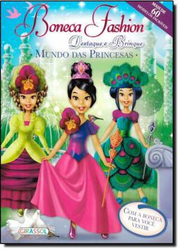 BONECAS FASHION - MUNDO DAS PRINCESAS