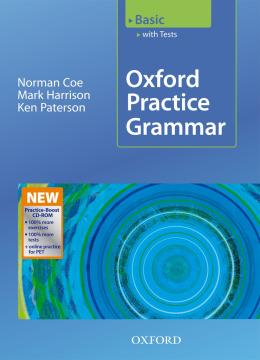 OXFORD PRACTICE GRAMMAR BASIC WITH TEST AND CD-ROM - NEW EDITION
