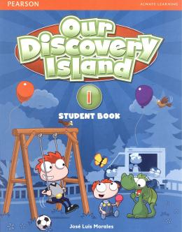 OUR DISCOVERY ISLAND 1 STUDENT´S BOOK WITH WORKBOOK AND ONLINE ACCESS CODE/MULTIROM - 1ST ED