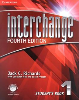 INTERCHANGE 1 STUDENTS BOOK WITH DVD-ROM - FOURTH EDITION