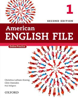 AMERICAN ENGLISH FILE 1 STUDENTS BOOK WITH ONLINE SKILLS - 2ND ED