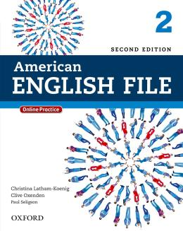 AMERICAN ENGLISH FILE 2 STUDENTS BOOK WITH ONLINE SKILLS - 2ND ED