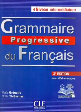 GRAMMAIRE PROGRESSIVE DU FR. INTER. - LIVRE + CD AUDIO - 3E EDITION