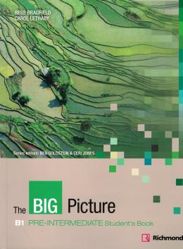THE BIG PICTURE B1 PRE-INTERMEDIATE STUDENTS BOOK