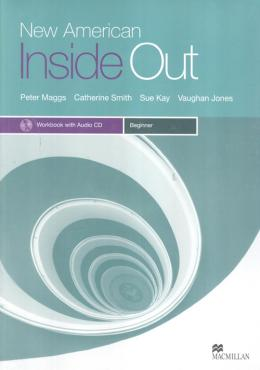 NEW AMERICAN INSIDE OUT BEGINNER WB WITH AUDIO CD & KEY - 2ND ED