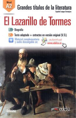 LAZARILLO DE TORMES, EL A2 - AUDIO DESCARGABLE EN PLATAFORMA
