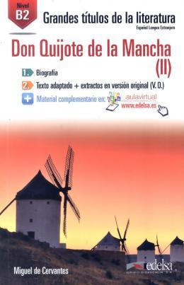 DON QUIJOTE DE LA MANCHA (II) B2 - AUDIO DESCARGABLE EN PLATAFORMA