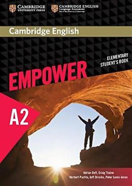 CAMBRIDGE ENGLISH EMPOWER ELEMENTARY STUDENT´S BOOK - 1ST ED