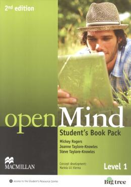 OPEN MIND 1 STUDENT´S BOOK WITH DVD AND WEBCODE  - 2ND ED