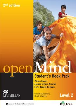 OPEN MIND 2 STUDENT´S BOOK PACK WITH  DVD - 2ND ED