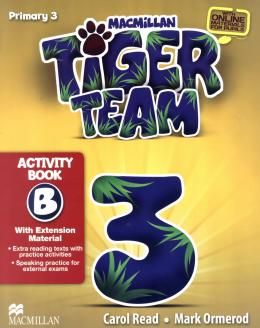 TIGER TEAM 3B ACTIVITY BOOK WITH PROGRESS JOURNAL