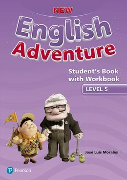 NEW ENGLISH ADVENTURE 5 SB WITH WB - 1ST ED