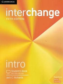 INTERCHANGE INTRO STUDENT´S BOOK WITH ONLINE SELF-STUDY - 5TH ED