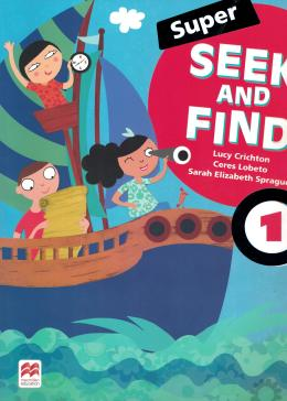 SUPER SEEK AND FIND 1 STUDENT´S BOOK AND DIGITAL PACK - 2ND ED